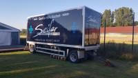 Miete Kühlwagen LKW schwarz 20t