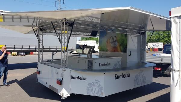 Miete Ausschankwagen Moritz Krombacher