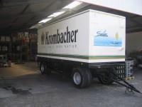 Miete Kühlwagen LKW Krombacher 18t