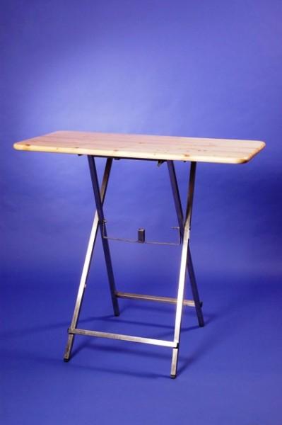 Miete Stehtisch Holz 60x110cm