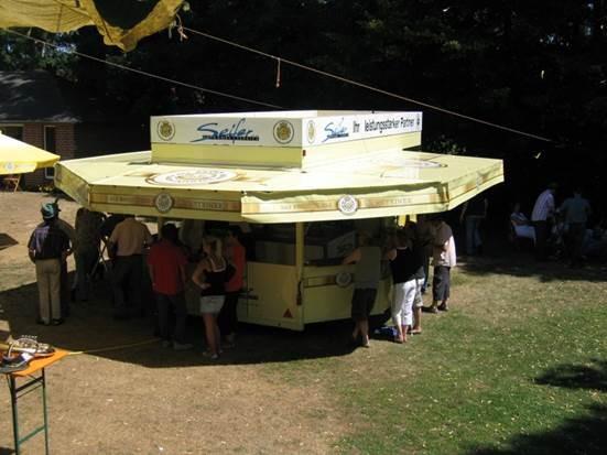Miete Ausschankwagen WarsteinerTreff
